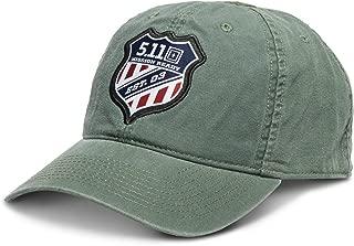 5.11 Tactical Men's Mission Ready 2.0 Cap, 100% Peached Cotton Canvas, Adjustable, Style 89459