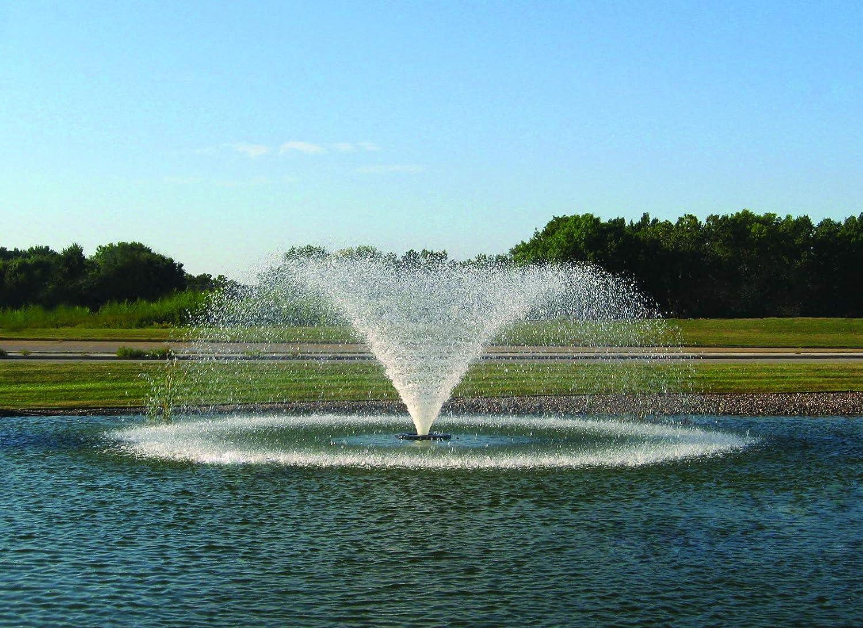 Kasco 5HP VFX Series Aerating Pond 240V three phase Fountain – Tulsa Mall Topics on TV