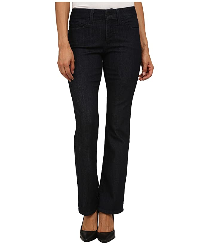 NYDJ Petite Petite Billie Mini Boot in Dark Enzyme (Dark Enzyme) Women's Jeans