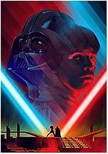Printing Pira - Star Wars Darth Vader and Luke Skywalker Poster (11x17)