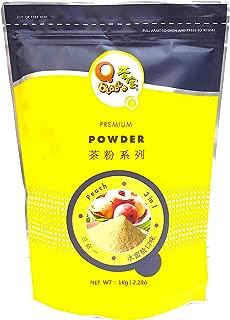 Qbubble Tea Powder, Peach, 2.2 Pound