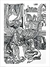St. Jerome in his Study Pulling a Thorn from a Lion's paw by Albrecht Durer Laminated Art Print, 24 x 32 inches