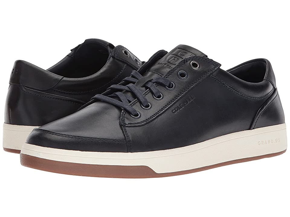 Cole Haan Grandpro Spectator Lace Ox (Navy Handstain) Men