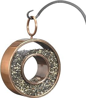 Good Directions 0111VB Circle Fly-Thru Bird Feeder Birdfeeder, Copper Finish