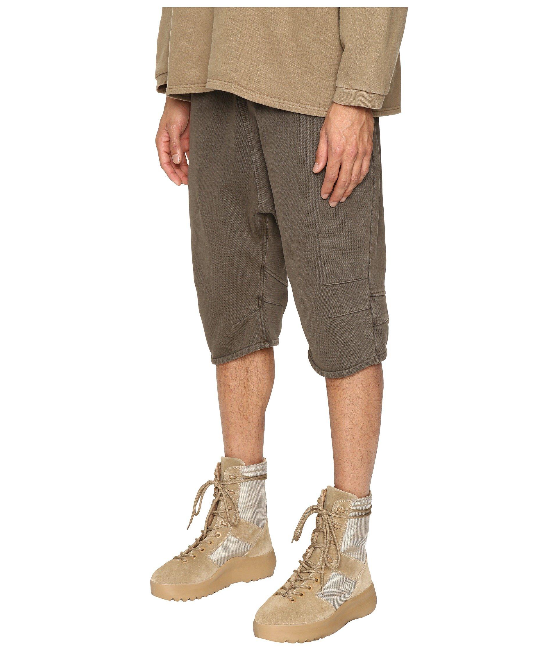 adidas originals by kanye west yeezy season 1 fj shorts at 6pm