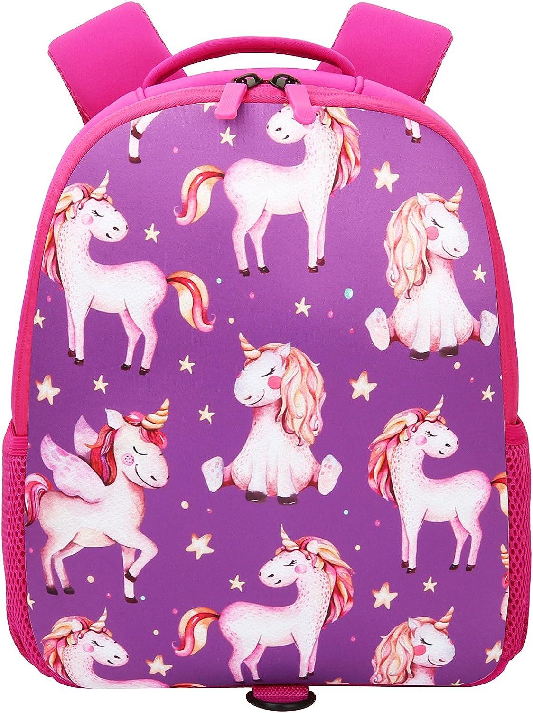 Insulated Toddler Max 45% OFF Backpack Neoprene Preschool Bag Special sale item Book