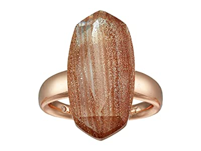Kendra Scott Dani Cocktail Ring (Rose Gold/Gold Dusted/Pink Illusion) Ring