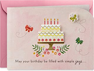 Hallmark Paper Wonder Paper Craft Birthday Card (Happy Surprises)
