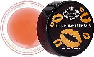 Jaowying+Beauty Jujub Lip Balm for Dark Lips To Look Soft 0.33 Oz (Pineapple)