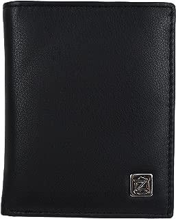 Zerimar Cartera Cuerpos Seguridad | Portaplaca | 7 Compartimentos | Cartera Portaplaca | Color: Negro | Medidas: 11 x 9 cm