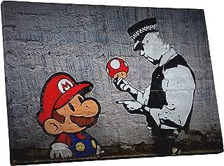 Pingo World BSY1130 Banksy Super Mario Bros Canvas Wall Art, 20