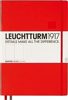 LEUCHTTURM 1917 Notebook A4 CUADERNO Tapa Flexible LISO Negro 343052 7155ng