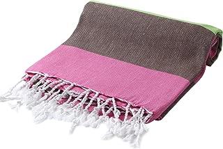 Cacala Pestemal Turkish Bath Towels Striped Bath Beach Sauna Luxury Peshtemal 37x70 Soil Rose