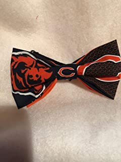 Chicago Bears NFL logo adult bow tie