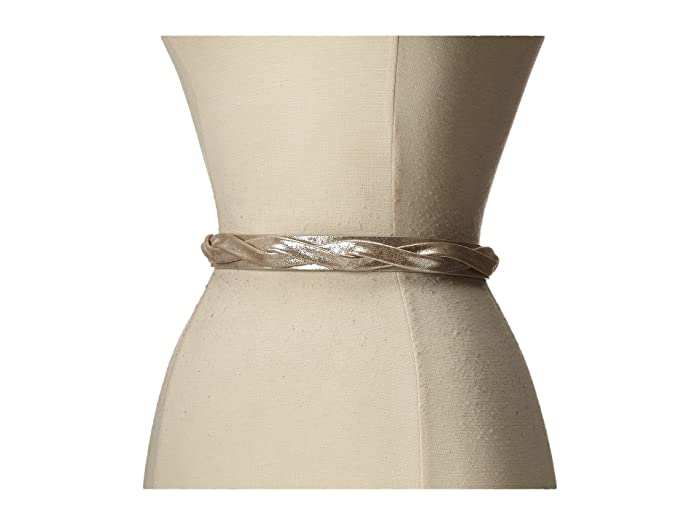 ADA Collection Skinny Wrap Belt (Silver) Women