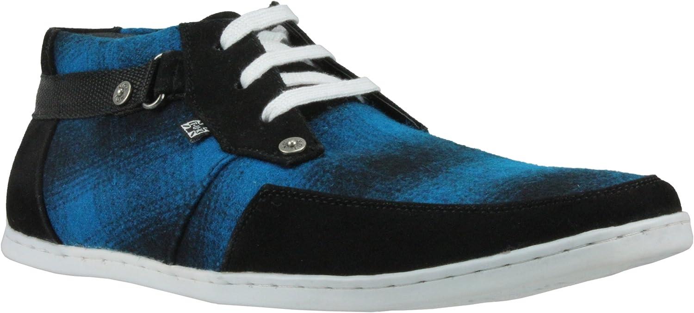 T.U.K. Sneaker PENDLETON WOOLY 8018 bluee-black EU44