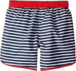 Nautical Stripes Swim Shorts (Toddler/Little Kids/Big Kids)
