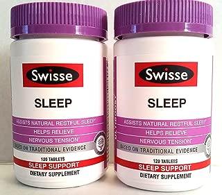 Swisse Sleep Ultiboost 120 Ct Tablets x 2 Bottles