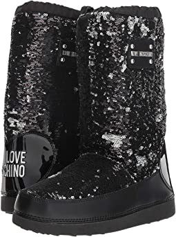 Sequined Boot