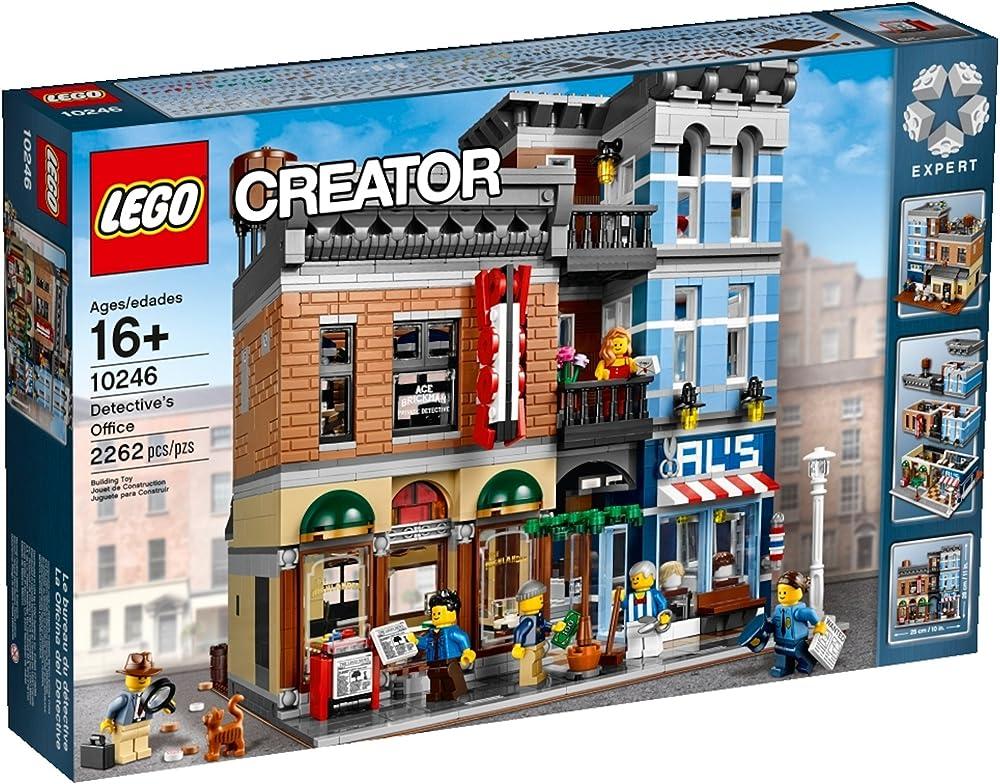 Lego creator- lego ufficio dell`investigatore 10246