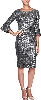 Women's Plus Size Short Sequin Dress