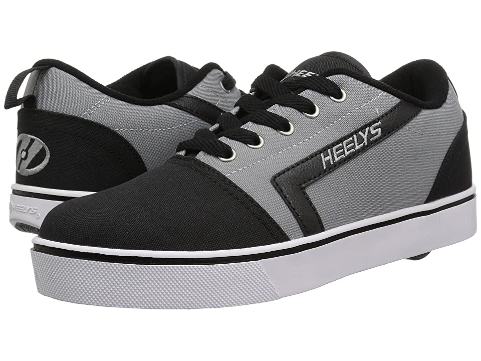 Heelys GR8 Pro (Little Kid/Big Kid/Adult) (Black/Grey) Boys Shoes