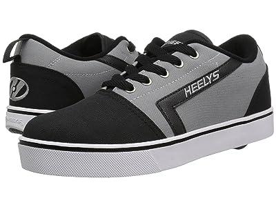 Heelys GR8 Pro (Little Kid/Big Kid/Adult) (Black/Grey) Boys Shoes