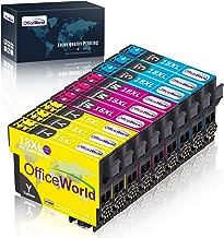 OfficeWorld Sostituzione per Epson 18 18XL Cartucce d'inchiostro Ciano Magenta Giallo Compatibile per Epson Expression Home XP-202 XP-305 XP-415 XP-412 XP-215 XP-312 XP-212 XP-102 XP-405 XP-205