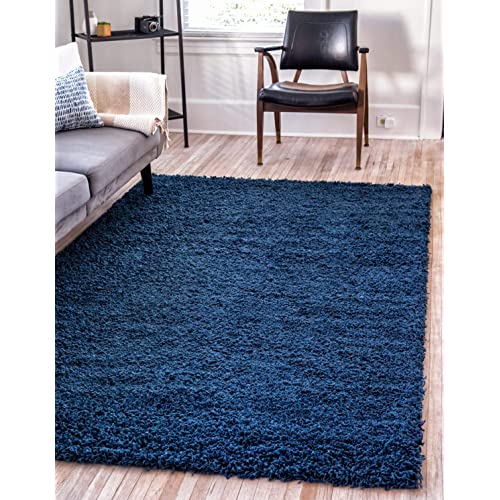 Blue Modern Area Rugs 8x10 Amazon Com