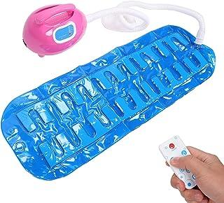 Electric Bathtub Bubble Massage Mat, Waterproof Tub Massaging Spa, Adjustable Full Body Bubbling Bath Thermal Massager Mac...