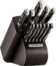 Sabatier Self-Sharpening Edgekeeper Pro 12-Piece Forged Triple Rivet Knife Block Set