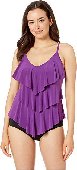 9fe2df0553a87 Magicsuit solid rita tankini top, Clothing | Shipped Free at Zappos