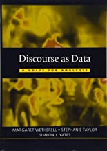 Discourse as Data (Published in association with The Open University)