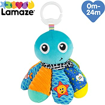 LAMAZE Salty Sam Octopus, Clip On Toy, Blue