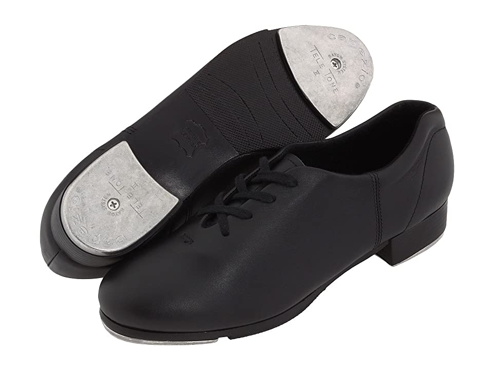Men's Swing Dance Clothing, Vintage Dance Clothes Capezio Premiere Rayow Tap Black Dance Shoes $84.00 AT vintagedancer.com