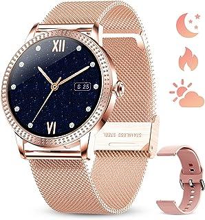 GOKOO Relojs Inteligente Mujer Smartwatch Deportivo Fitness Monitores Actividad Pulsera Actividad Inteligente Pantalla Tác...