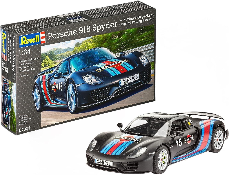 07027 1 24 Porsche 918 Spyder Weissach Sport Version
