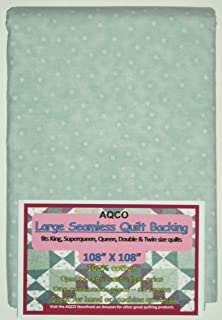 Quilt Backing, Large, Seamless, from AQCO, Light Teal, C49809-A09