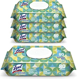 Lysol Disinfectant Handi-Pack Wipes, Multi-Surface Antibacterial Cleaning Wipes, For Disinfecting and Cleaning, Country Sc...