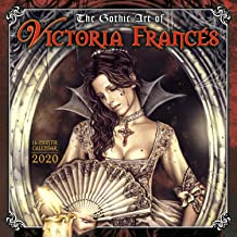 The Gothic Art of Victoria Francés 2020 Wall Calendar: by Sellers Publishing