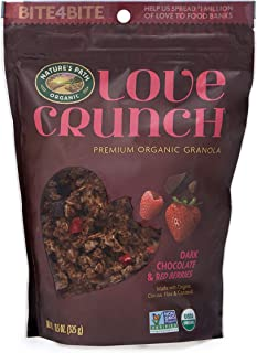 nature valley dark chocolate granola nutrition