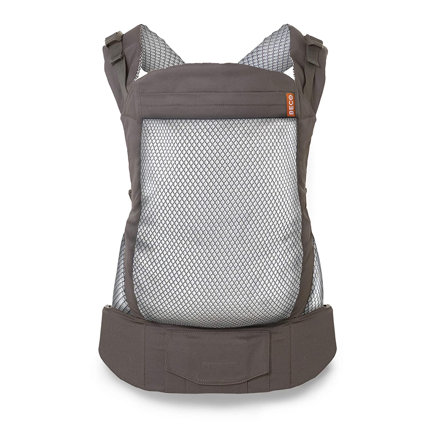 Beco Toddler Carrier – Backpack Style Baby Carrier for Children from 20 up to 60 lbs, Designed to Hold Toddlers with Extra Wide Seat (Cool Dark Grey)