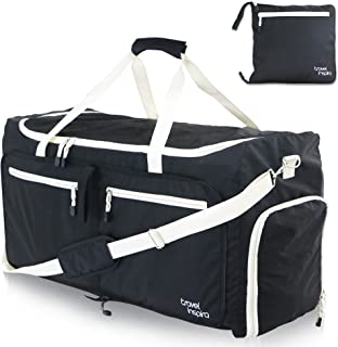 85L Foldable lightweight Water Resistant Luggage Bag Duffel for Sports Gym Camping
