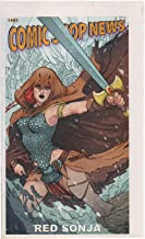 Comic Shop News, no. 1483 (2015) (cover: Nicola Scott's Red Sonja): Spider-Man vs Sub-Mariner, Cagehero, Citizen Jack, Justice League, Empire of Blood, New Avengers, Apama the Undiscovered Animal