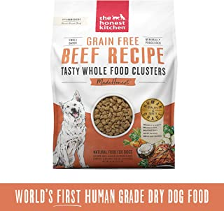 The Honest Kitchen Grain Free Whole Food Clusters Dog Food – Ranch Raised Beef 20 lb