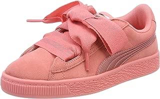 SUEDE HEART SNK PS Pembe Kız Çocuk Sneaker Ayakkabı
