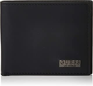 Guess Mens Global Wallet With Coin Holder, Black, One Size - 31GUE13200