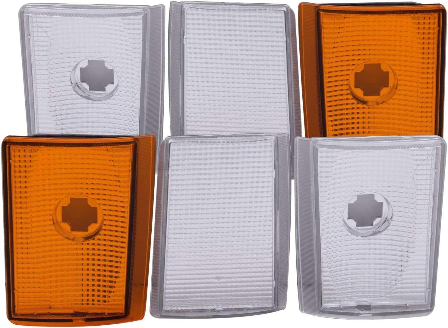 Anzo USA 521032 Chevrolet Suburban lectors Attention brand With Euro Am Pieces famous 6