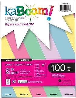 pastel construction paper