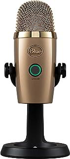 Blue Yeti Nano Premium USB Microphone Cubano - Gold